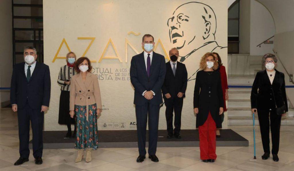 Inauguración Exposición Azaña BNE