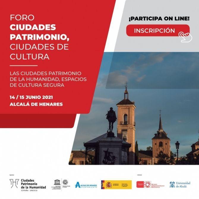 Alcalá de Henares acoge el «Foro Ciudades Patrimonio»