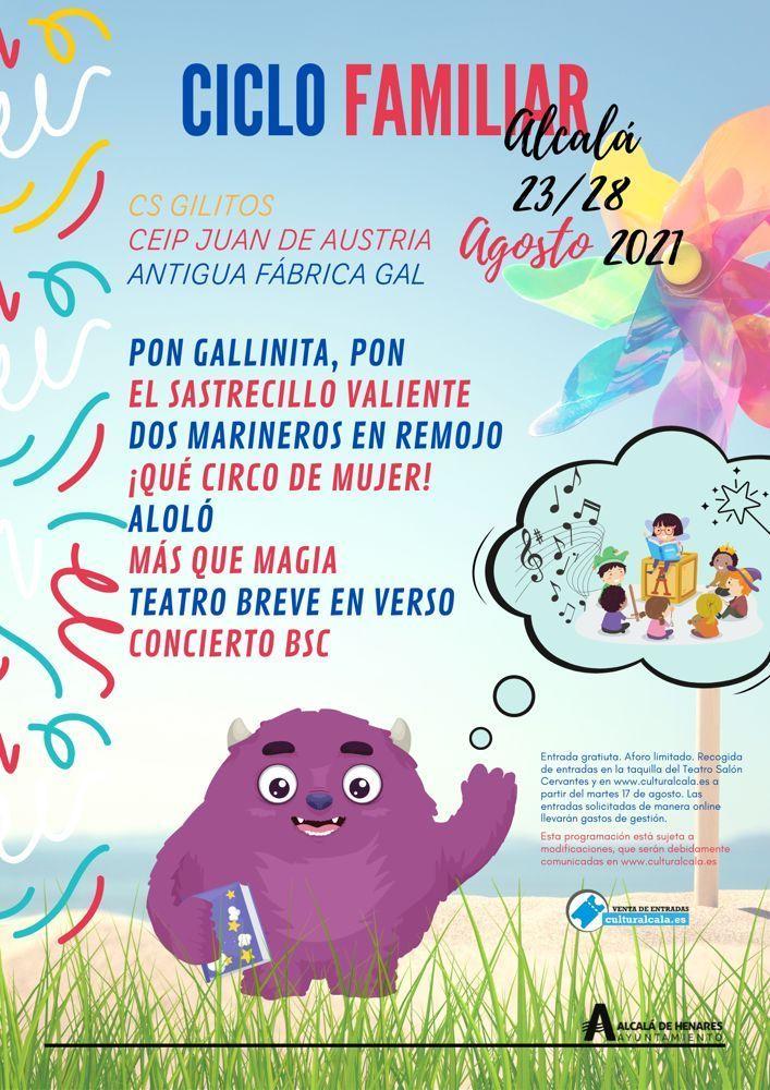 Programación de Ferias y fiestas 2021 de Alcalá de Henares