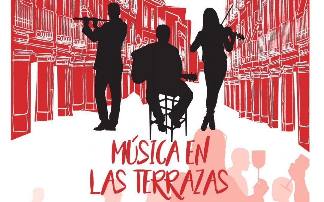Música en las terrazas de Alcalá de Henares