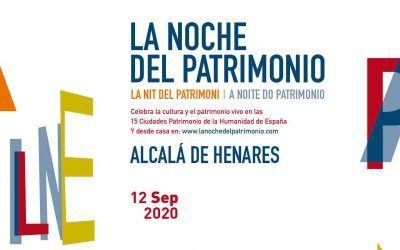 La noche del patrimonio 2021 en Alcalá de Henares